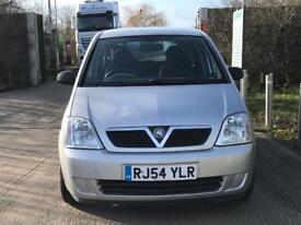 2004 Vauxhall meriva, automatic, low mileage, long mot