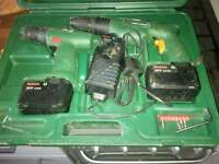bosch twin drill set