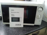 manual microwave by tesco,s