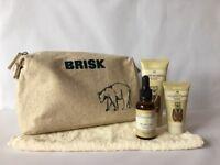 Brisk Mens Beard Gift Set - Brand New