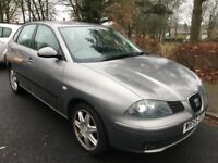 Seat Ibiza Sport 16V 1390cc Petrol 5 speed manual 5 door hatchback 55 Plate 16/11/2005 Grey
