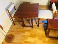 table & chairs