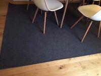 Ikea Grey Floor Rug