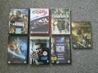 Dvd bundle 7 films