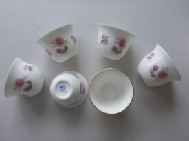 Bone china pot plate vase bowl, brooch coalport wedgwood royal worcester royal doulton and more