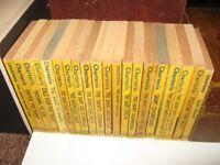 Leslie Charteris - Twenty Yellow Jacket Hodder & Stoughton Paperbacks (Dating from 1951-1955)