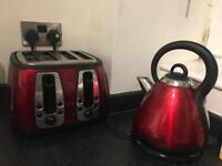 Morphy Richards Toaster & Kettle set