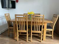 Dining Table & Chairs £150
