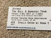 2 tickets to Jethro - The bull and bonkers tour - Friday 3 November Wyvern theatre swindon