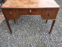 Vintage wooden sideboard with 3 drawers