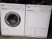 Miele matching condenser dryer and washer