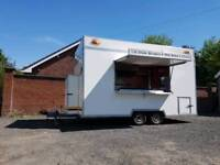 Butler 16ft Twin Mobile Catering Trailer - 5* Condition - High Output Fryers -
