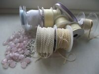 Selection of Ribbons and embellishments