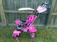 Baby girl 4 in one trike