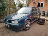 Volkswagen Golf Mk4 GtTdi 6 speed 150bhp ARL Oceanic Green Pearl (LC6X) Breaking for Spare parts