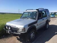 LAND ROVER DISCOVERY TD5 2003 2.5 TURBO DIESEL