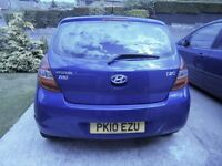 Hyundai i20. Very good condition with gas conversion