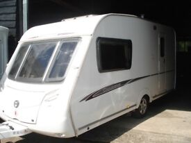 R&K CARAVANS 2008 SWIFT CHARISMA 230 END BATHROOM, 12 MONTHS WARRANTY