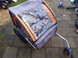 Trail Buggy for 2 kids Halfords