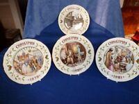 Aynsley Christmas Plates