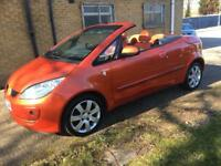 57 2007 Mitsubishi colt 1.5 czc convertible with electric roof