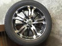 15'' rims and tires