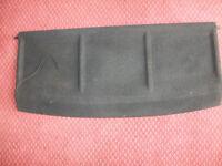 Saxo Parcel Shelf - Black - final price reduction