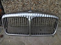 DAIMLER SOVEREIGN FRONT GRILLES x 2 -- 1972 series 2 & 3 --- Part Number BD42301 --
