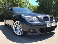 BMW 525D 2009 FULLYLOADED KNEW SHAPE TV £6350