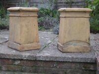 Chimney Pot Buff antique period rare