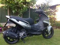 Price reduced if sold this week, like brand new Gilera Runner 125cc Silver Soul Pitstop Edition