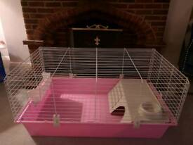 Guinea Pig Cage - Pink