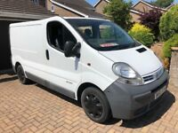 Nissan Primastar 1.9dci fully insulated day van/camper or just a van!