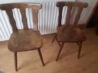 2x Dining chairs
