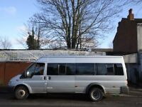 FORD TRANSIT MINIBUS**17 SEATER**LWB**TWIN WHEELS**GENUINE 134K FROM NEW**LOW...