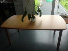 Dining table ( 6 optional chairs for free)