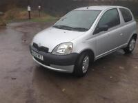 02/02 TOYOTA YARIS 1.0 GS VVTi 3 DR ONLY 54000 MILES !!