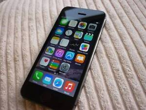 Apple iPhone 5S Space Gray Unlocked Brand New Condition Melbourne CBD Melbourne City Preview