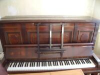 Brinsmead & Sons Style X2 - Upright Iron Grand (Overstrung) piano.