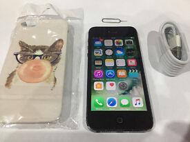I-Phone 5 16GB (Black) ~ Unlocked ~ Condition: 4 - Good