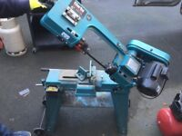 """clarks metalworker 6""""metal band saw"""