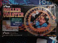 K'Nex Roller Coaster Construction Set