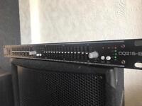 citronic equaliser pa system dj speakers