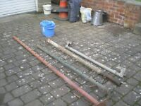 Acrow Props and Scaffold Bars: