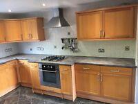 Magnet Kitchen Cabinets including Integrated Dishwasher/Fridge/Oven and Hob