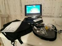 portable Toshiba dvd player