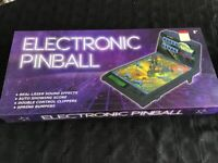 Battery operated pinball table as new it was a unwanted gift , it has got lights