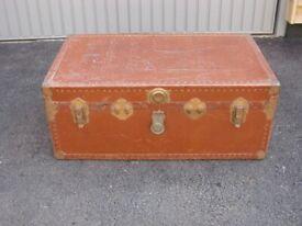 Vintage Brown Trunk