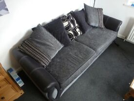 Stylish 4 seater sofa with delivery