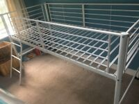 High rise single bed less than year old